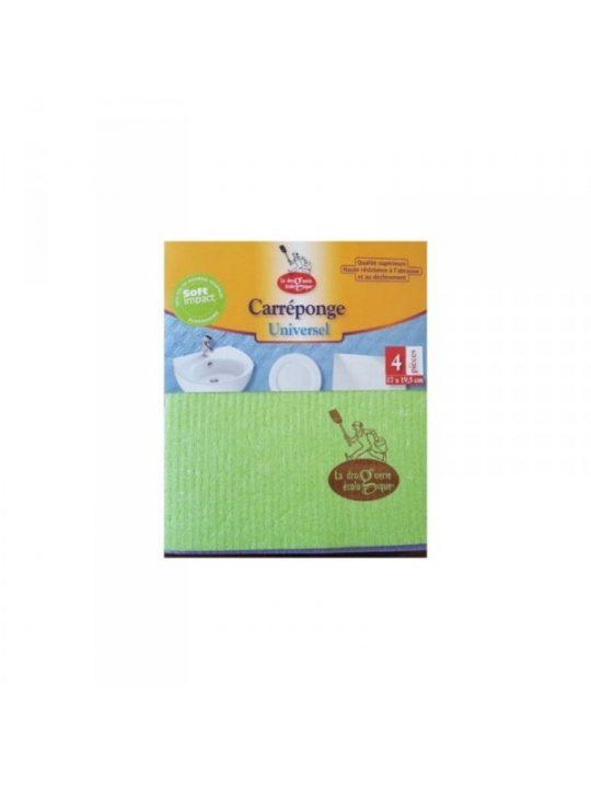 Bayetas de algodón y celulosa compostables